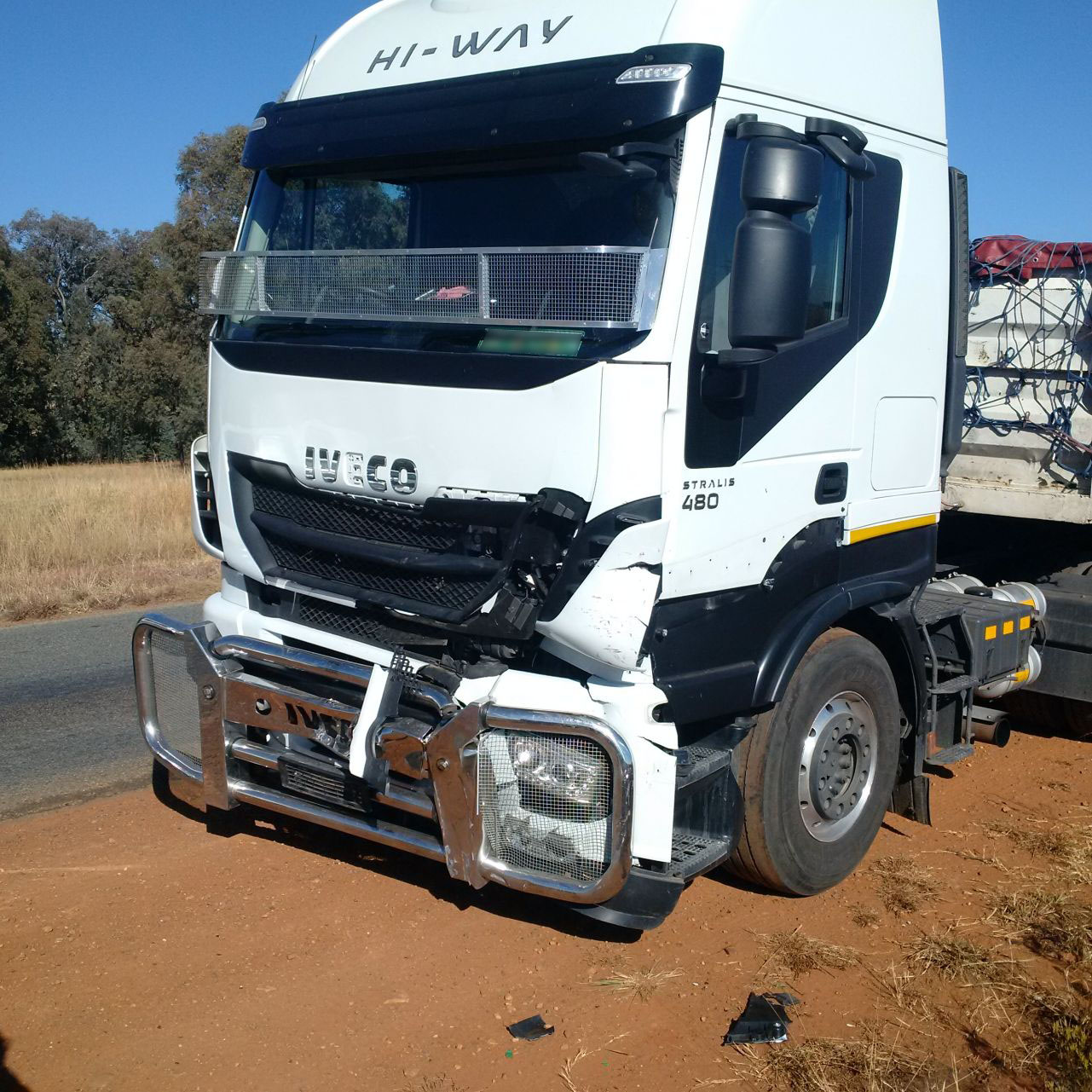 Five injured in truck collision 1