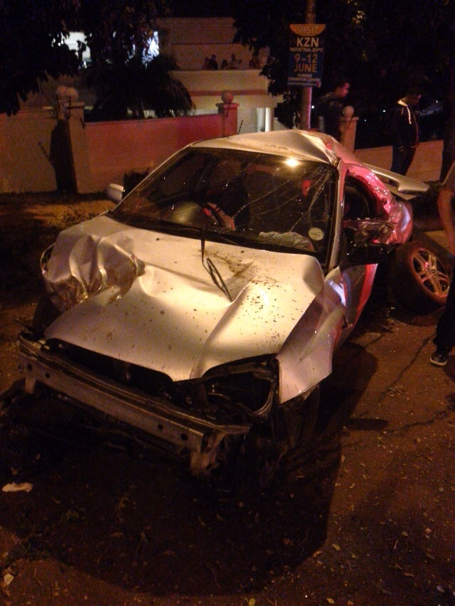 KZN Umhlanga rollover crash leaves two injured