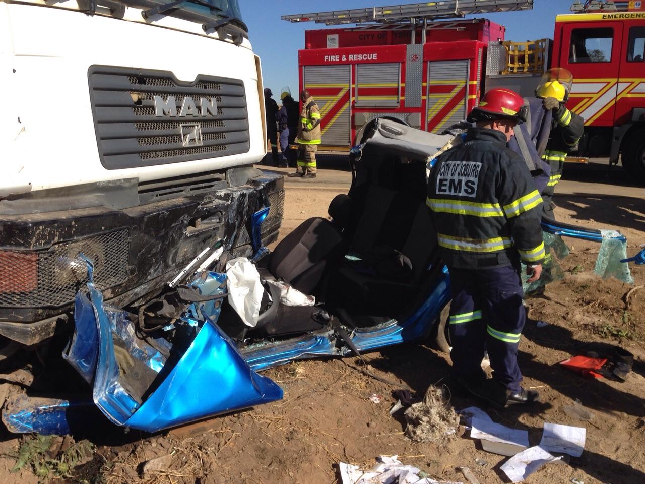 Diepsloot crash leaves man injured