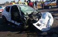 Hammanskraal head-on crash leaves two critical