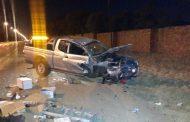 Elarduspark road crash leaves 2 injured