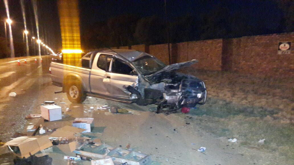 Elarduspark road crash leaves 2 injured