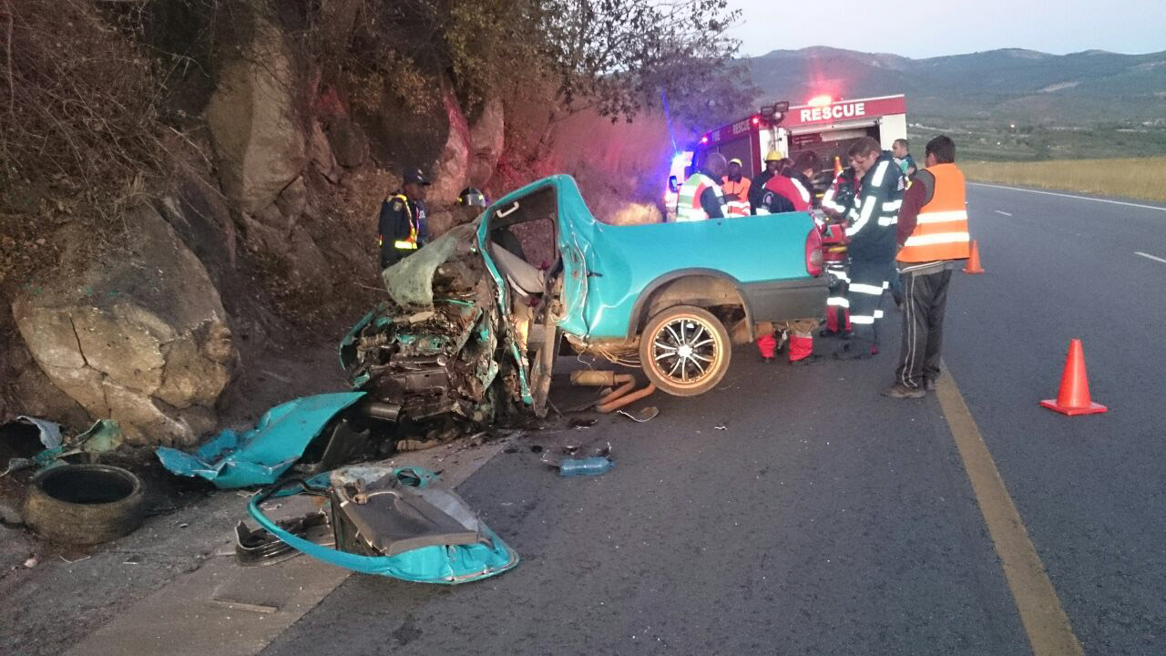 Nelspruit road crash leaves one dead and one injured