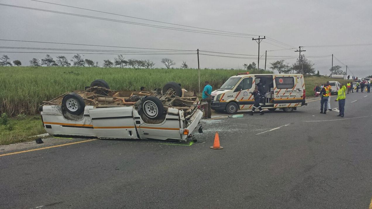 [Video] 29 patients injured in a crash involving 2 minibuses on the N2 past Paddock