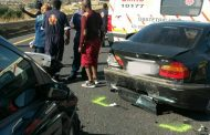 Five cars involved in a crash on the N2 near Izingolweni