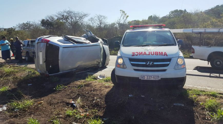 3 Injured in Durban crash