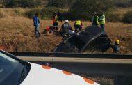 KZN N2 Tongaat rollover crash leaves one injured