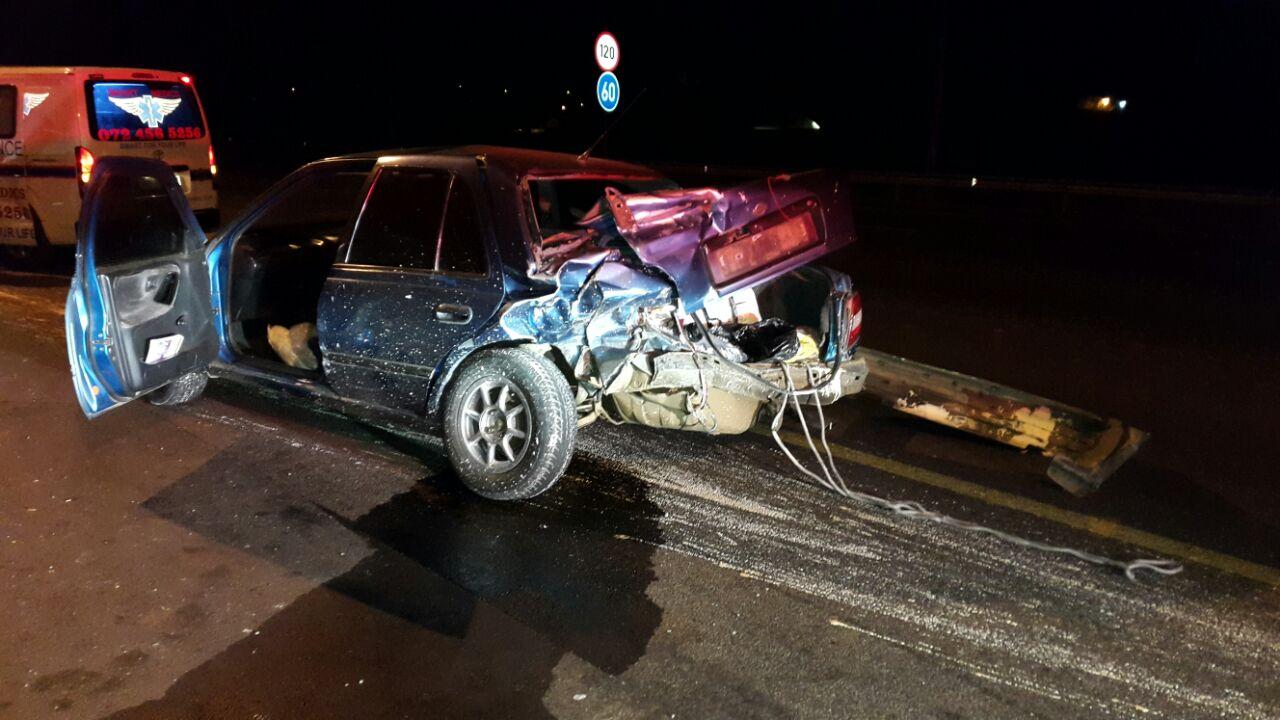 Centurion crash leaves four injured