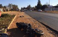 Man dies in motorcycle crash in Kempton Park