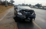 Woodmead rear-end crash leaves eight injured