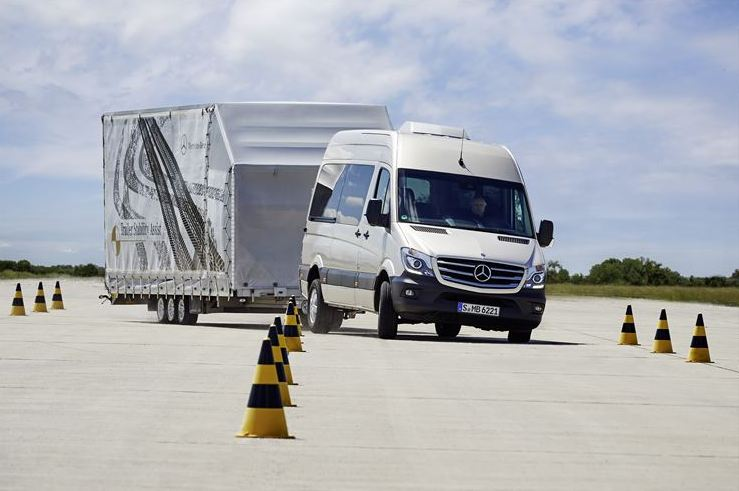 Daimler puts new safety technology on the road in all its commercial-vehicle divisions