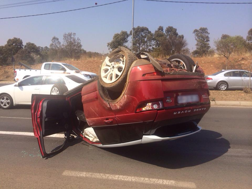 One injured in vehicle rollover on Wemmer Pan Road