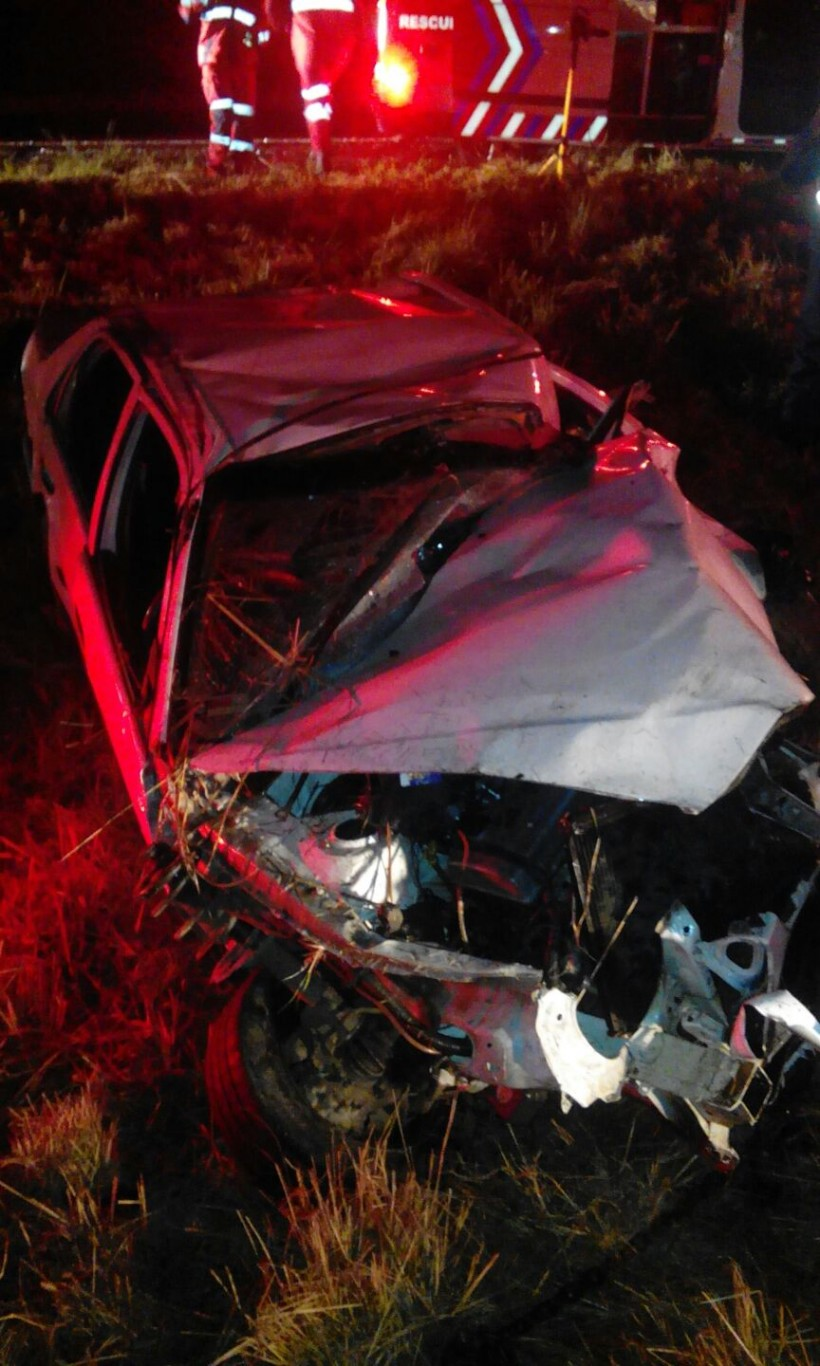 KZN Merrivale rollover crash leaves one entrapped and injured