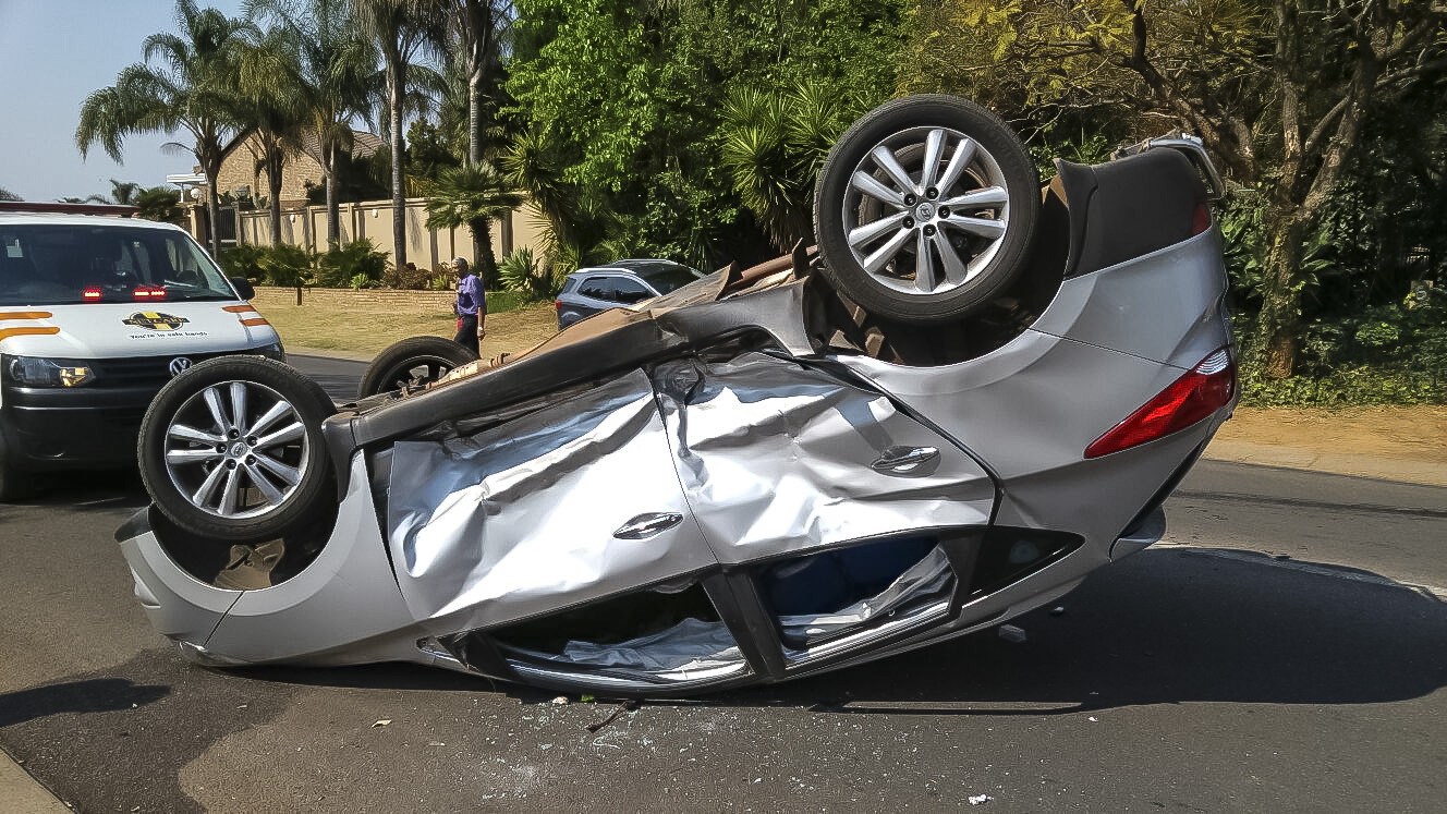 Four injured in side-impact collision in Garsfontein