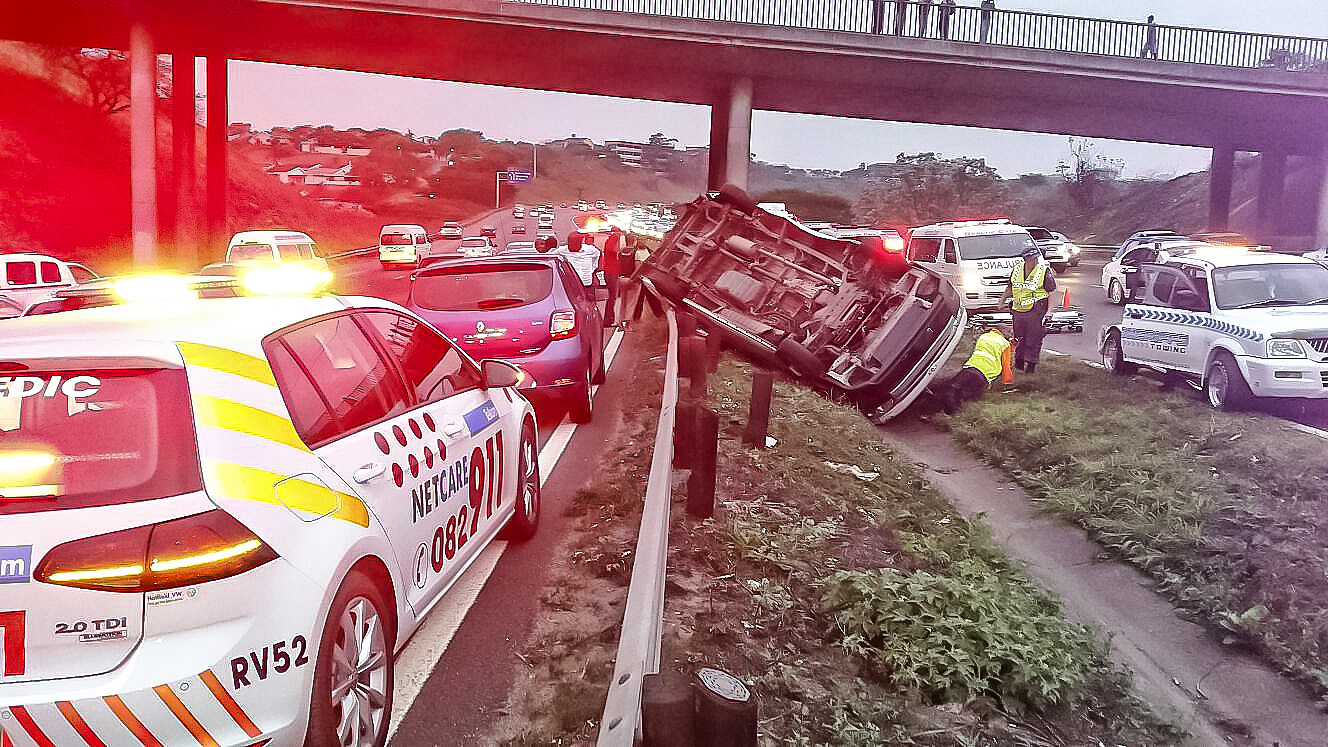 Margate R61 collision leaves 5 injured