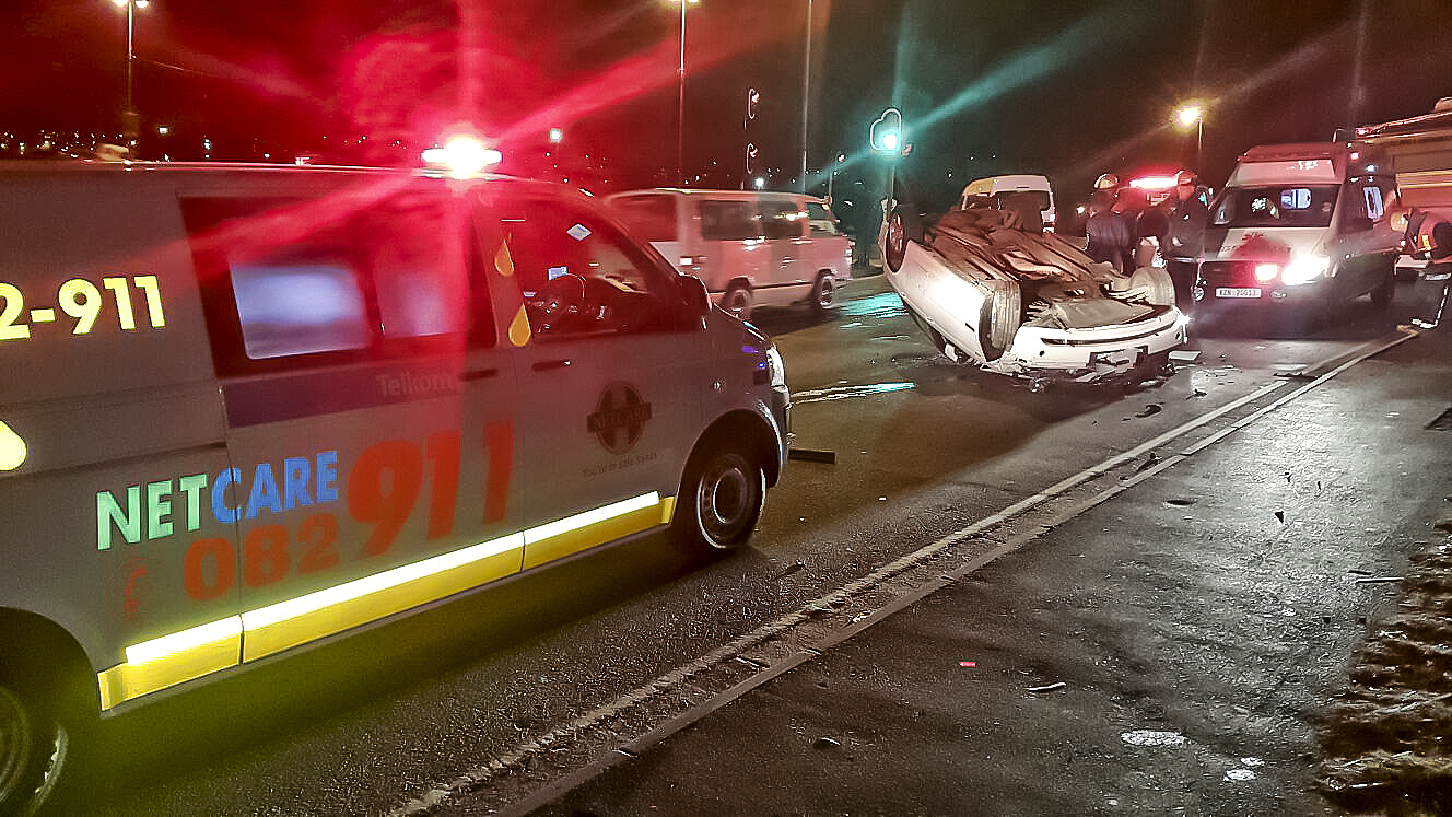 Queen Nandi drive road crash leaves two injured