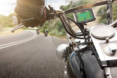 TomTom RIDER - A great safety device for the biking enthusiast