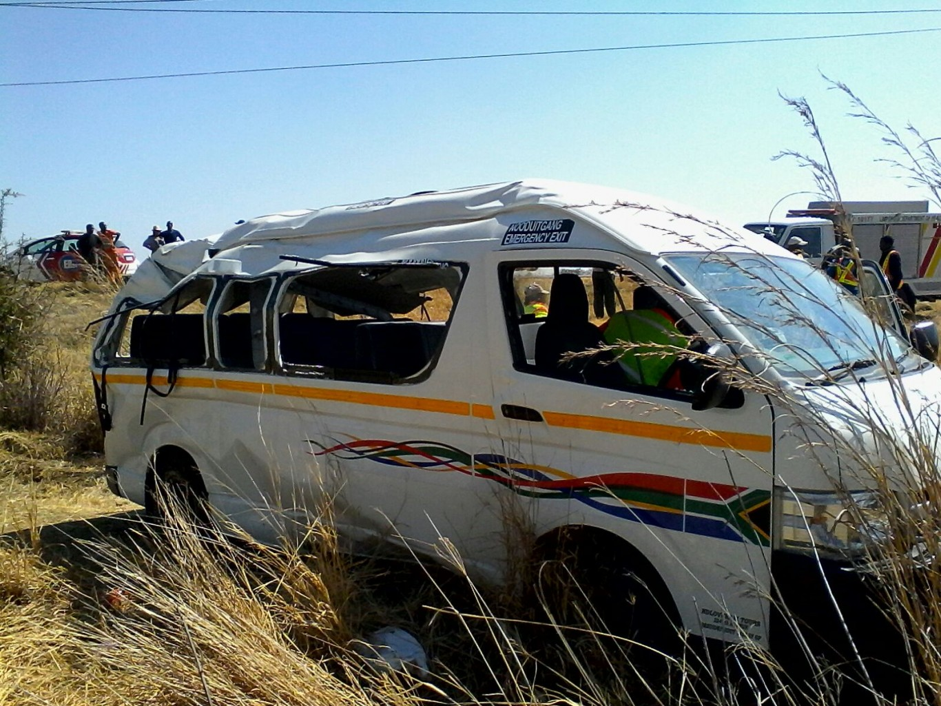 Sixteen in taxi collision, Polokwane