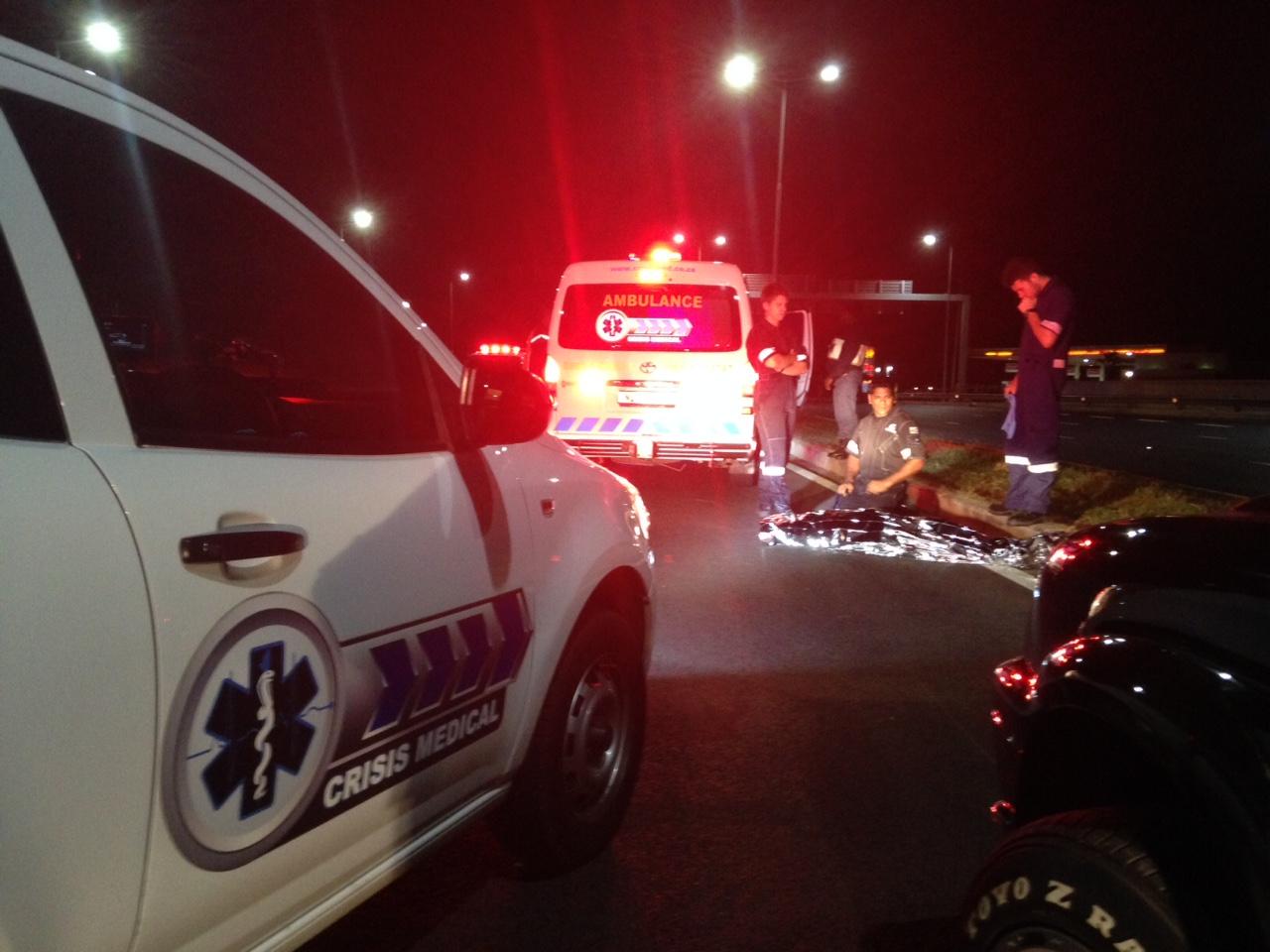 Pedestrian killed on M19