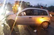 Driver injured in collision on Katherine Drive Bridge in Sandton
