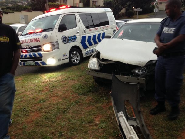 Armstrong avenue crash leaves two injured