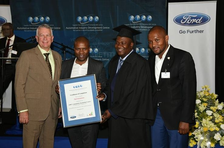 First Graduate from Ford's Incubation Centre