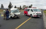 Four injured in taxi collision in Newcastle