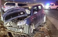Head-on collision in Waterkloof leaves two injured
