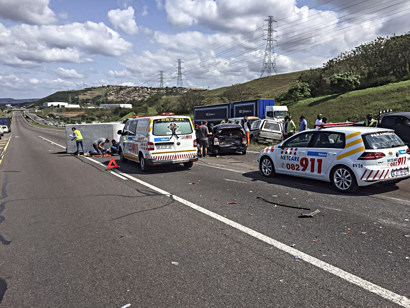 Umhlanga N2 south road crash leaves 5 injured