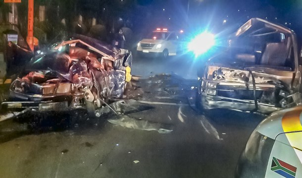 One killed, two injured in truck collision