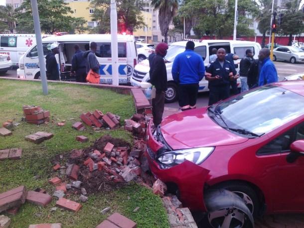 One injured in early morning Johannesburg CBD crash 2