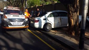 One person injured Houghton Drive collision (2)