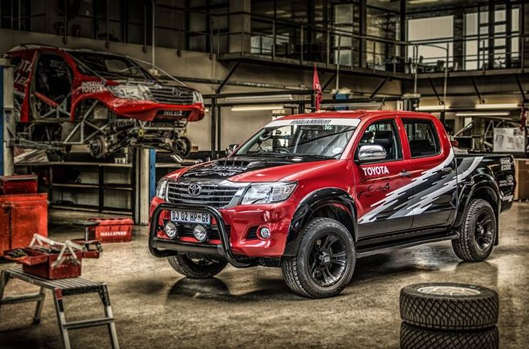 One Millionth Hilux Sold in South Africa