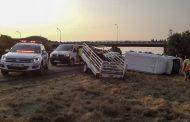 Two injured in Bloemfontein N1 crash