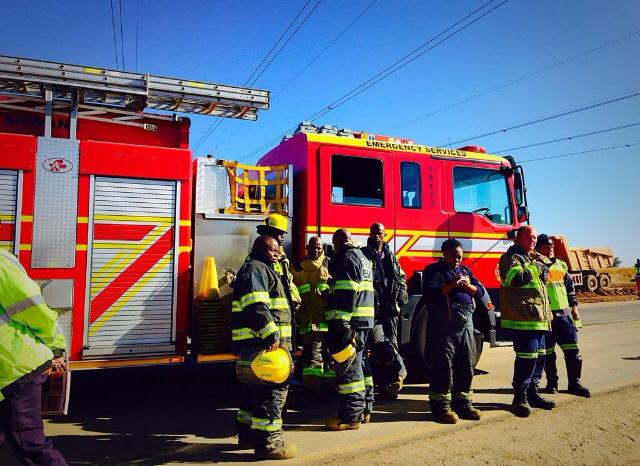 North West Local Government hands over fire fighting vehicles in Ventersdorp