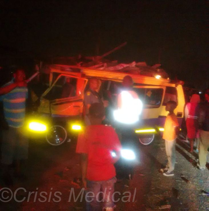 Eighteen injured in taxi smash near Umgeni Road