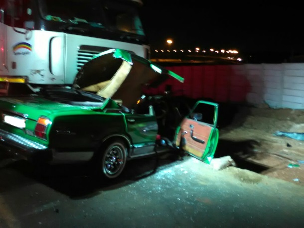 Man critical after truck collision in Benoni