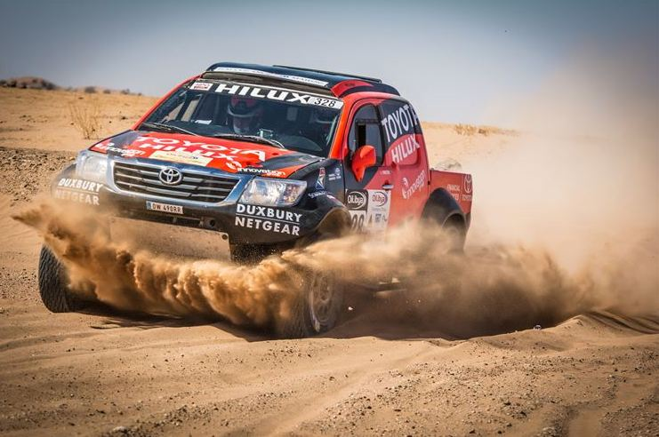 Clean run for Toyota SA Dakar team through Stage 2 of the Morocco Rally