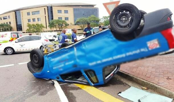 Driver injured in Stanger Street roll over crash