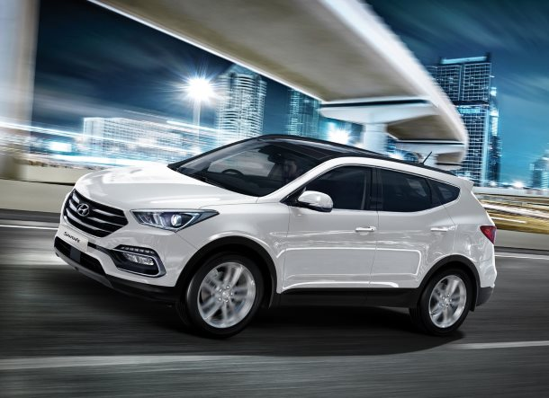 Enhanced Santa Fe: A refined and innovative SUV package