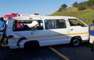 Spaghetti junction taxi crash leaves 16 injured