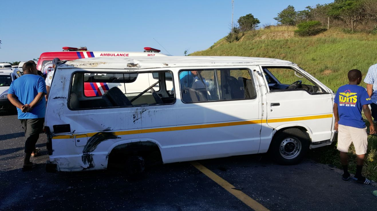 Spaghetti junction taxi crash leaves 16 injured