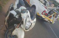 Biker injured in collision on Rigel Avenue