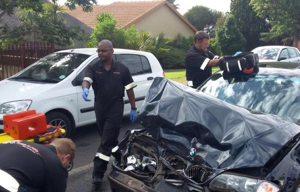 One injured in collision in Pierre van Ryneveld