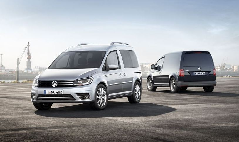 New Volkswagen Caddy now available