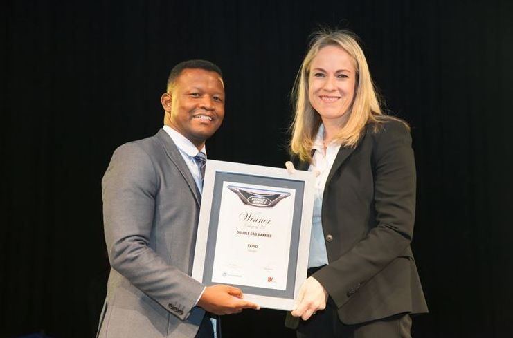 Ford Wins Top Standard Bank People's Wheels Awards