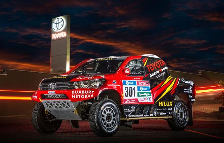 Toyota Gazoo Racing SA ready to tackle Dakar 2016 with 3 Vehicles
