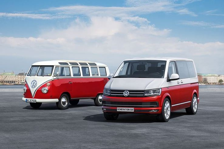 Volkswagen Commercial Vehicles presents the T-Series model