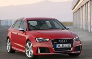 Power in a compact form. The new Audi RS3 Sportback