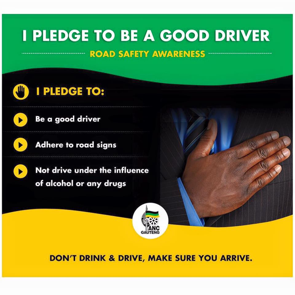 ANC statement for road safety